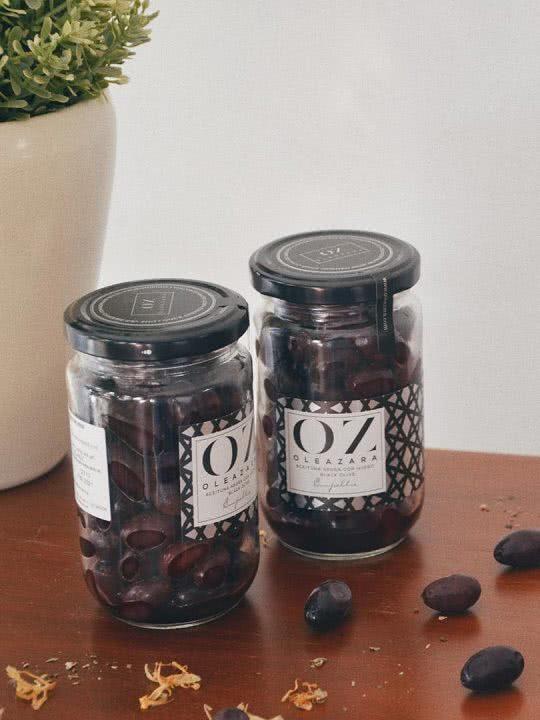 Aceitunas Negras de Aragón Variedad Empeltre de Oleazara