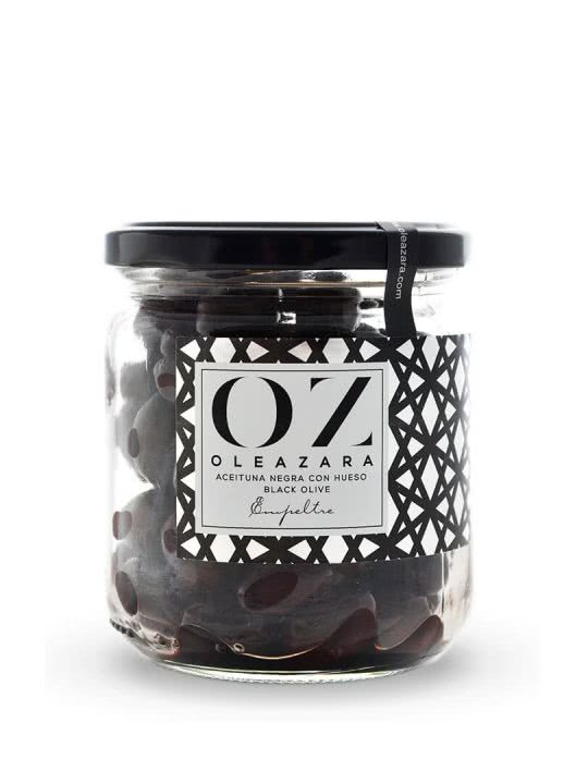 Aceitunas Negras de Aragón Variedad Empeltre Oleazara frontal