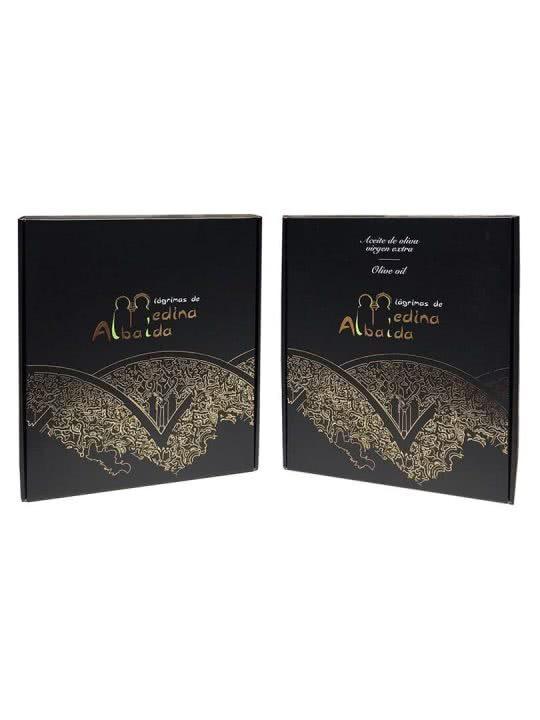 Pack AOVE Premium Medina Albaida Oleazara estuches