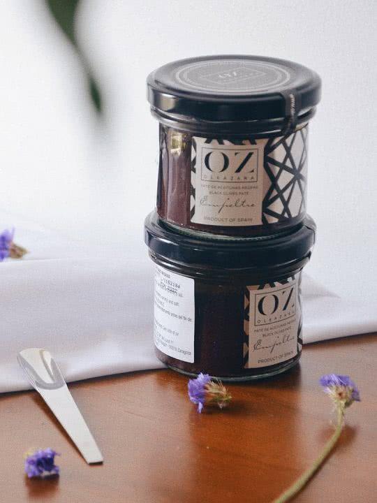 Paté de Aceitunas Negras de Aragón o Tapenade Oleazara