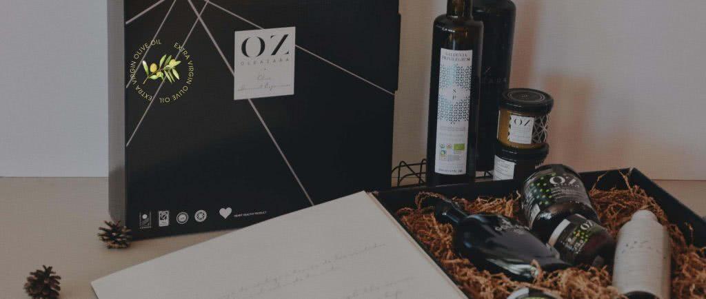 Cajas regalo personalizadas Oleazara