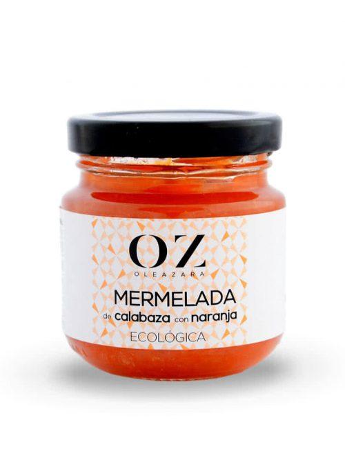 Mermelada de Calabaza con Naranja ECO Oleazara frontal