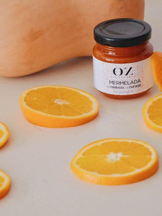 Mermelada de Calabaza con Naranja ECO Oleazara