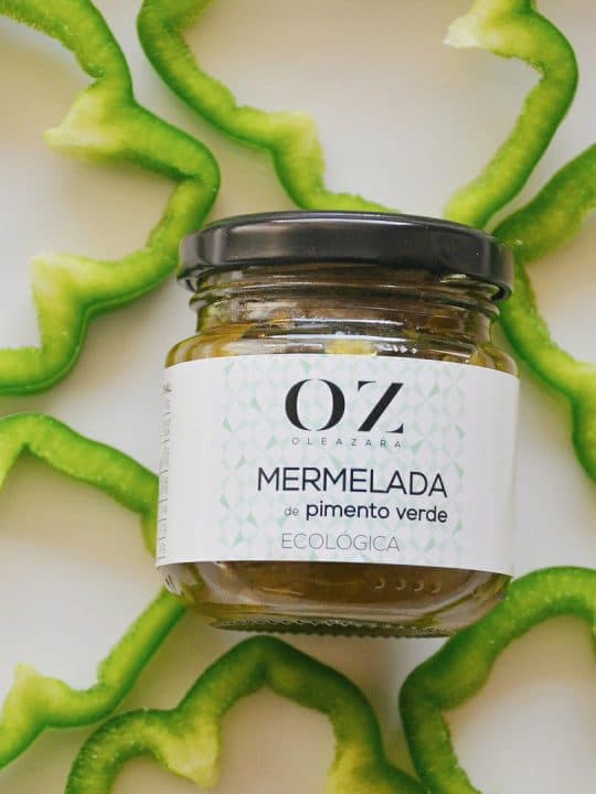Mermelada de Pimiento Verde ECO Oleazara