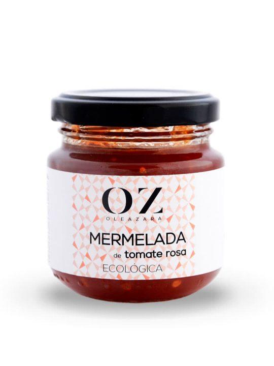 Mermelada de Tomate Rosa ECO Oleazara frontal