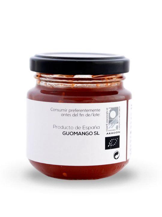 Mermelada de Tomate Rosa ECO Oleazara lateral